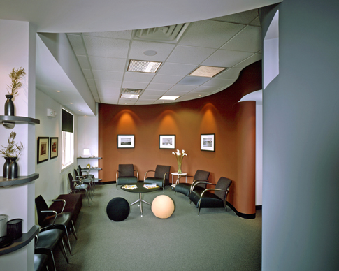 this award winning dental office project was completed in cincinnati during chris kepes tenure at architectsplus recipient 2005 cincinnati magazine award winning office design