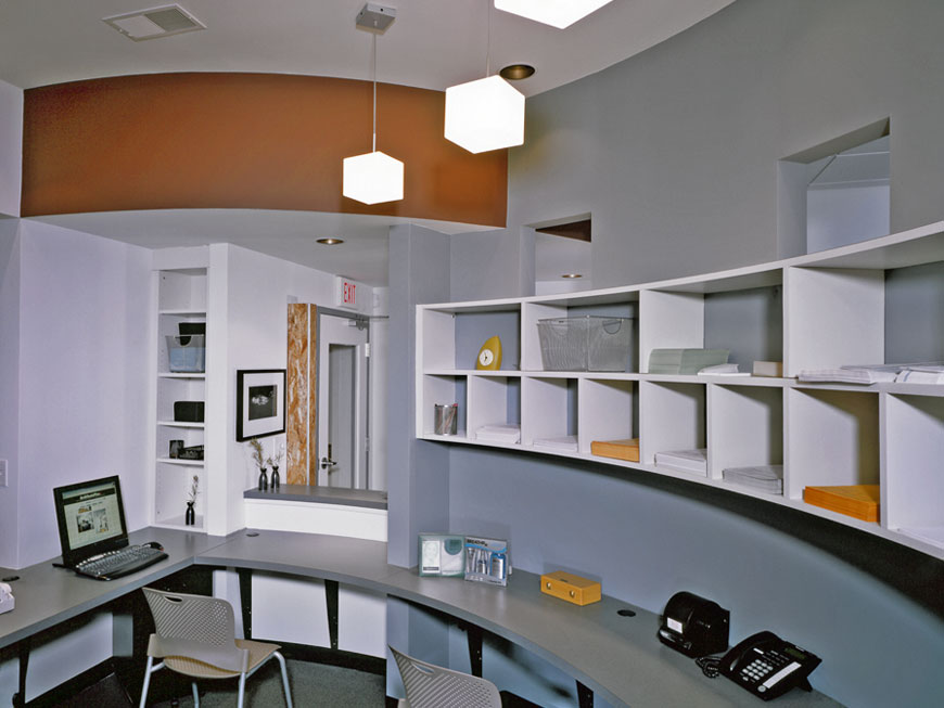 Award winning interior for modern dental office
