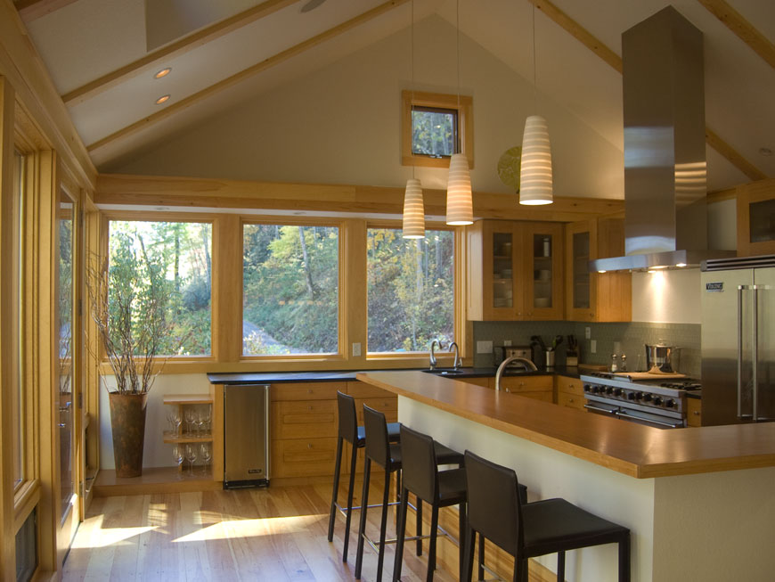 Beautiful kitchen designed by Kepes Architecture