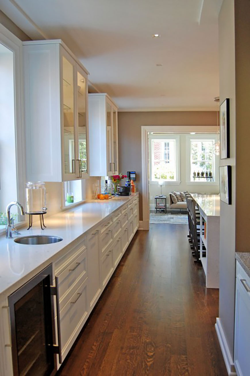 Historic kitchen remodel with modern feel by Kepes Architecture