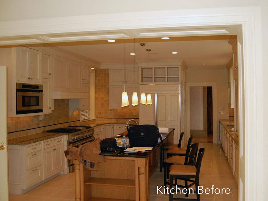 Historic kitchen before modernizing
